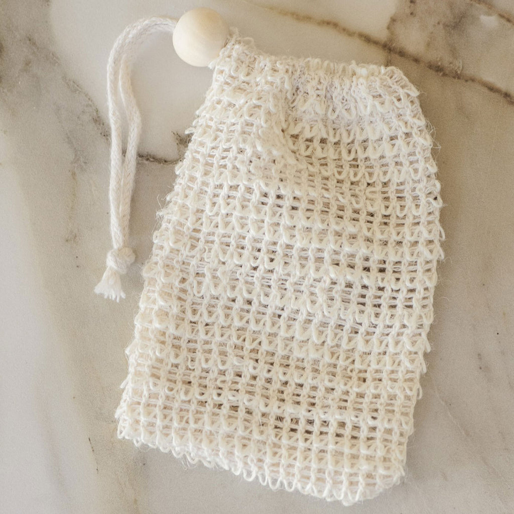 Agave Woven Soap Bag - Exfoliating Scrubber - Apt. F x No Tox Life