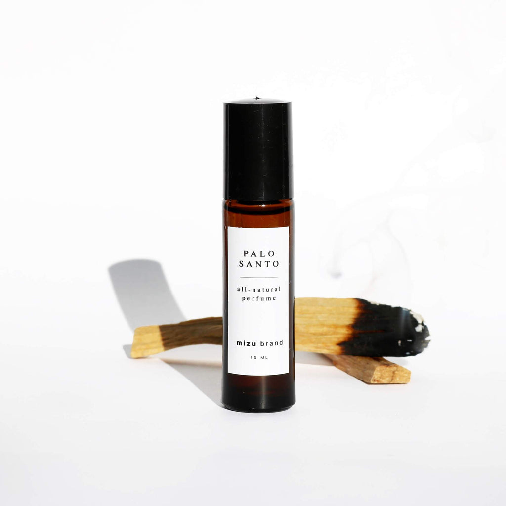 Palo Santo Perfume Oil Roll On - Apt. F x Mizu