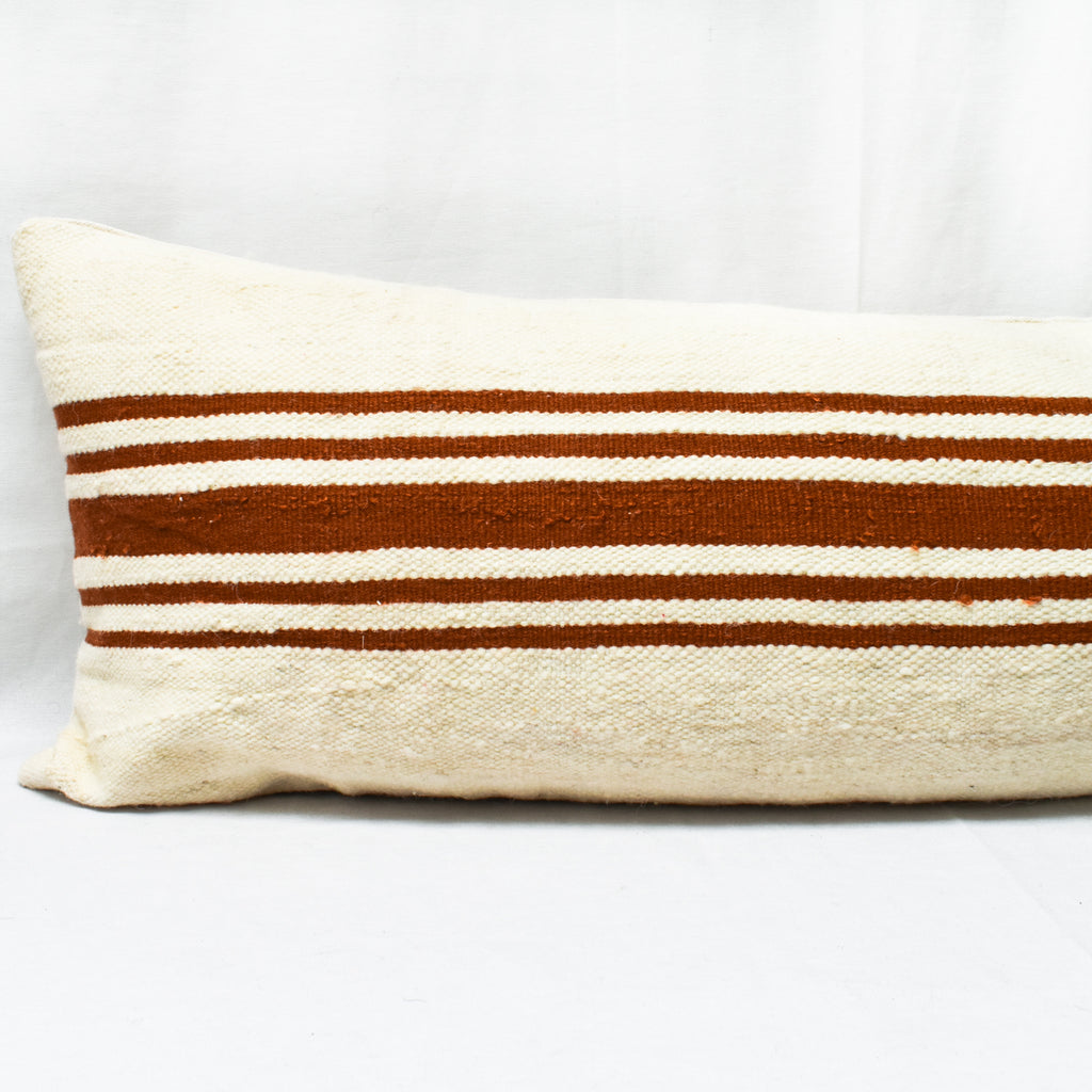 Moroccan Blanket Bed Pillow with Insert - Apt. F x APT F