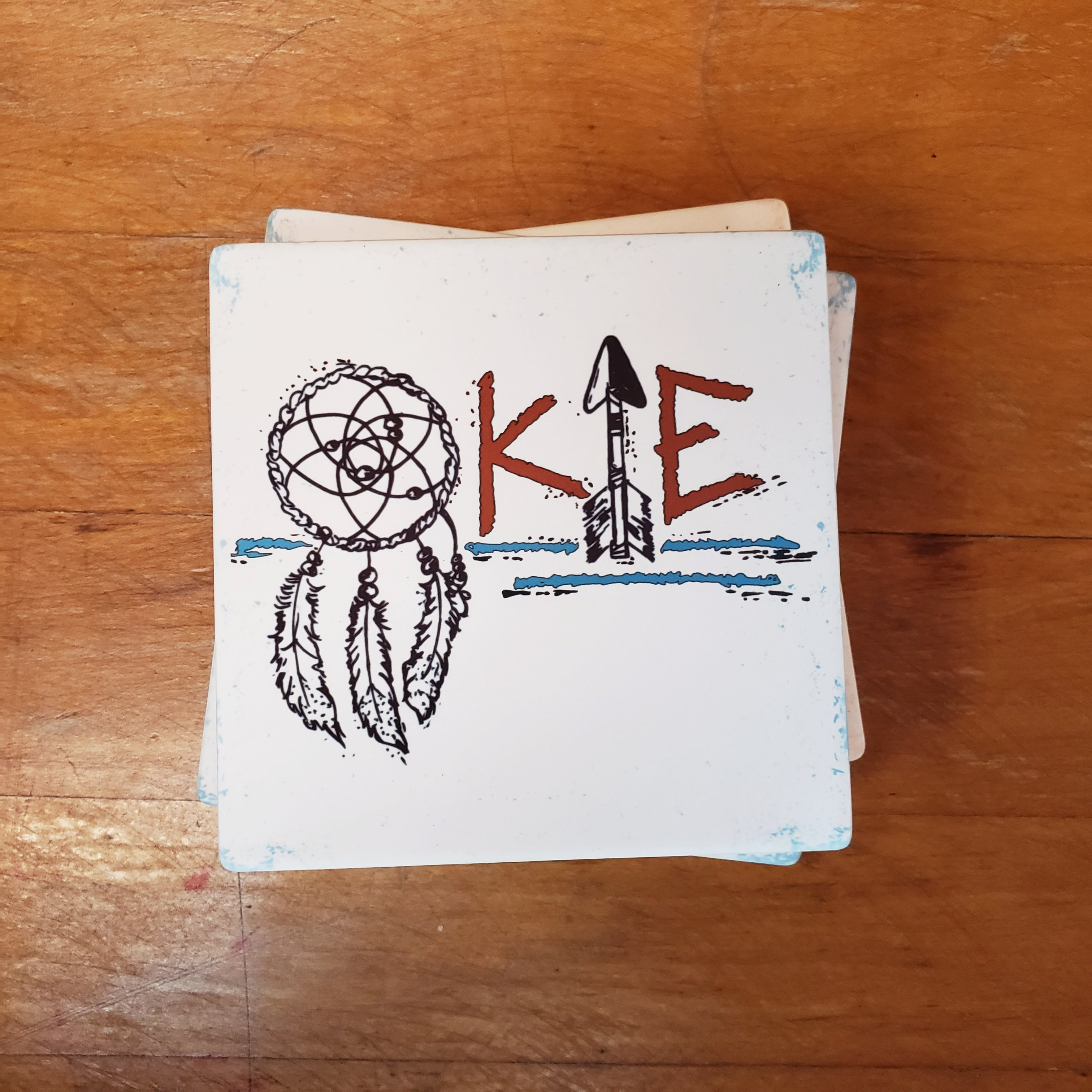 Okie Dreamcatcher Coasters