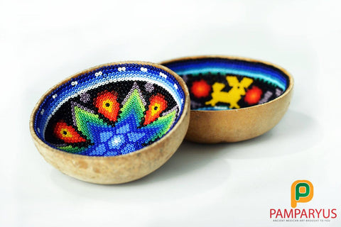 Recipientes Huicholes Huichol - Pamparyus
