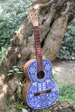 Guitarra Pamparyus Corchea Huichol Arte Huichol - Pamparyus