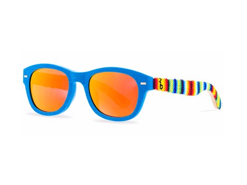 Glasses Huichol Colors Sky Blue Huichol - Pamparyus