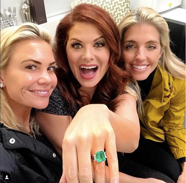 Debra Messing Buys Herself an Engagement Ring!