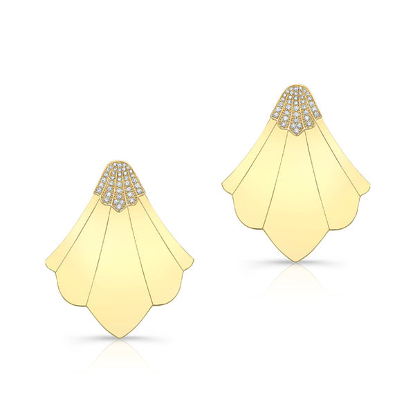 Harbour Island Earrings - Yellow Gold