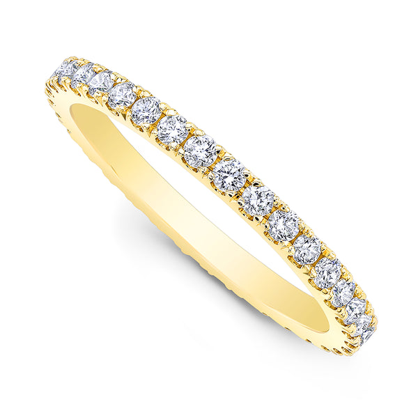 Diamond Pave Eternity Ring