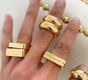 Square Lassell Ring