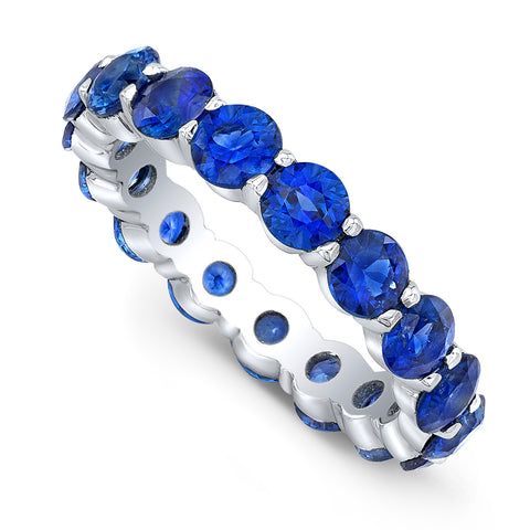 Sapphire Eternity Band