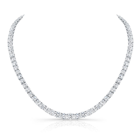 Bespoke Diamond Tennis Necklace