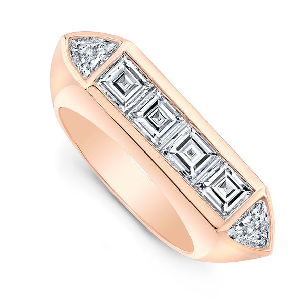Deco Ring - Diamonds