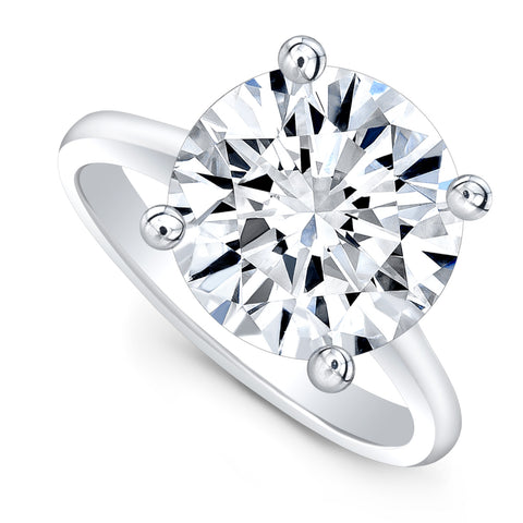 6-carat Brilliant Cut Ring