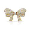 Akoya Pearl Necklace with Diamond Bow Clasp