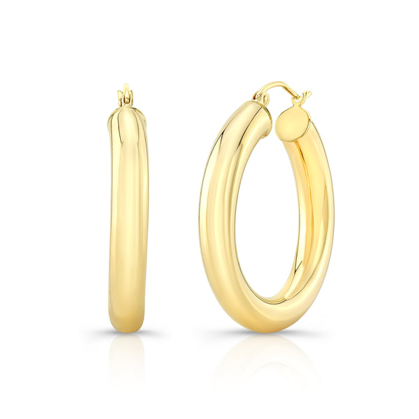 Medium Gold Hoops
