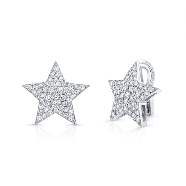 Extra Large Star Earrings