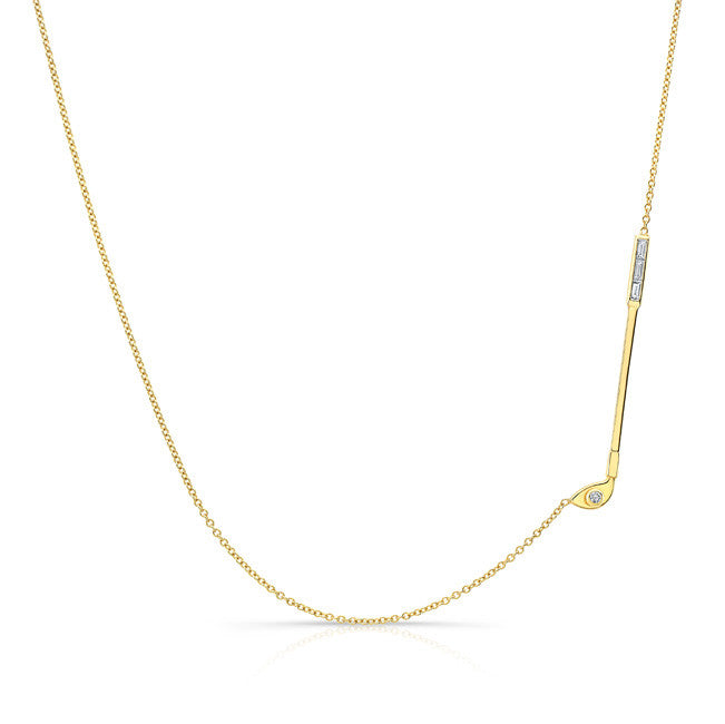 Diamond golf necklace alexandra jules diamond golf necklace aloadofball Choice Image