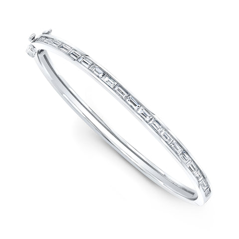 Medium Classic Diamond Bangle