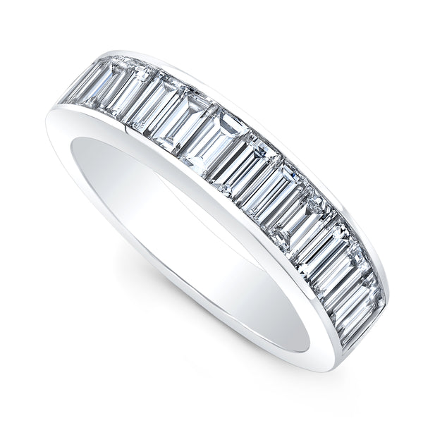 Medium Classic Diamond Baguette Band