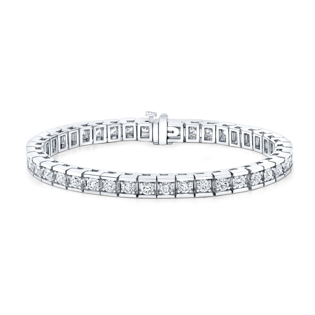 Diamond Box Tennis Bracelet