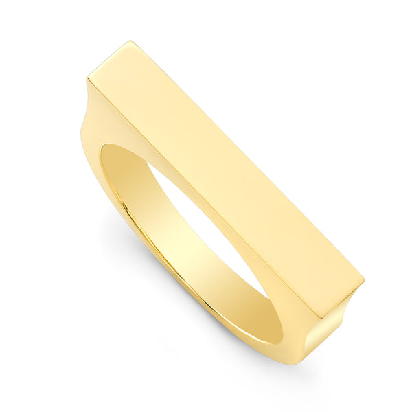 Square Skinni Bar Ring