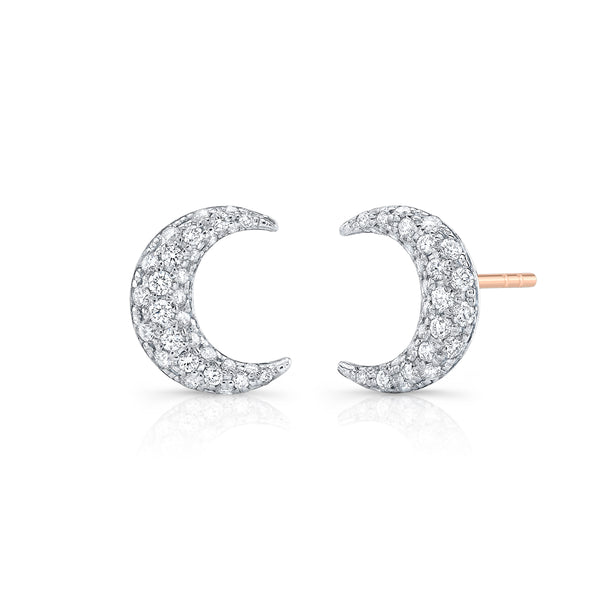 Alexandra Jules Moon Earrings