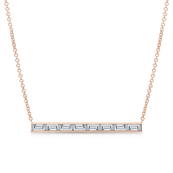 Diamond Skinni Bar Necklace