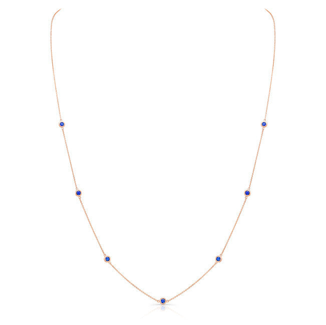 Sapphire by the Yard 20""