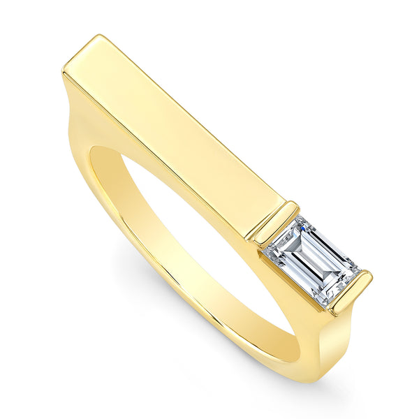 Diamond Matchstick Ring
