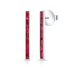 Ruby Skinni Bar Earrings
