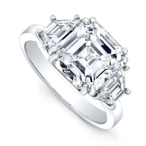 4-carat Asscher Cut Ring