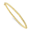Rope Bangle- Yellow Gold