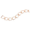 Stirrup Bracelet- White Gold