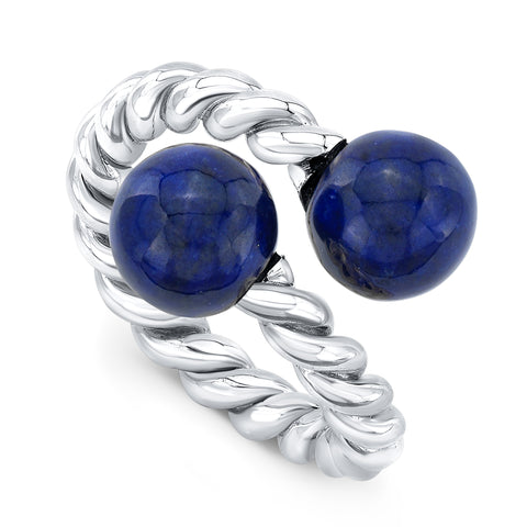 Lapis Orbit Ring