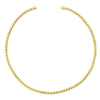 Rope Necklace-Yellow Gold