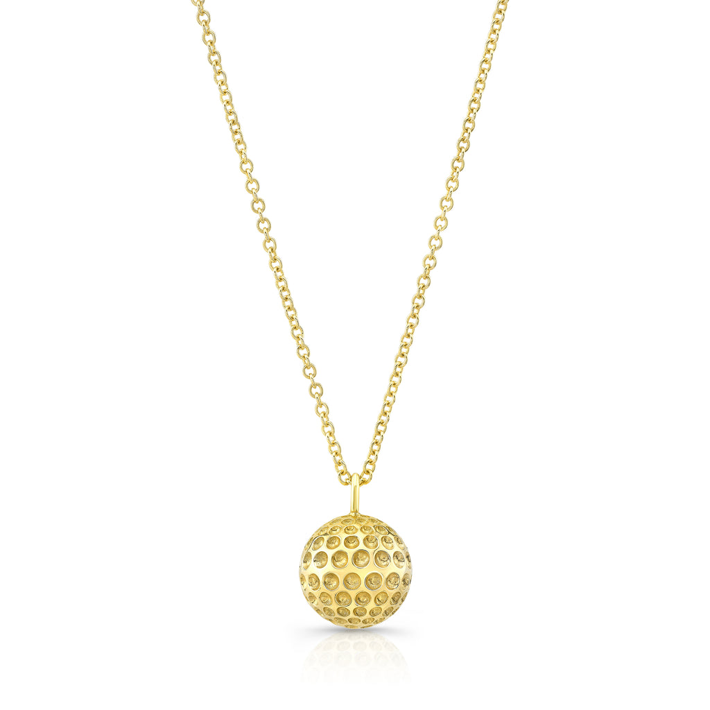 Alexandra Jules Golf Ball Necklace