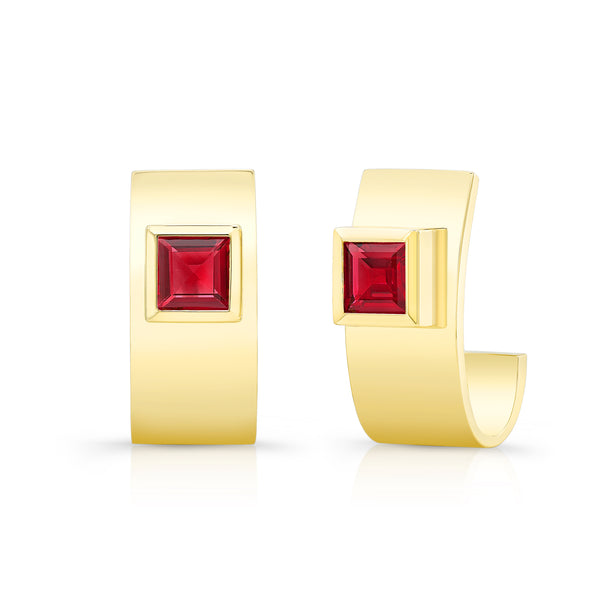 Ruby Forever Earrings