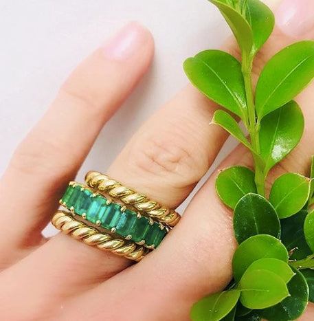 Thick Rope Ring