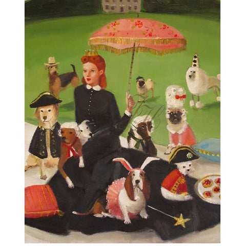 Miss Moon Was a Dog Governess- Lesson Eight Art Print