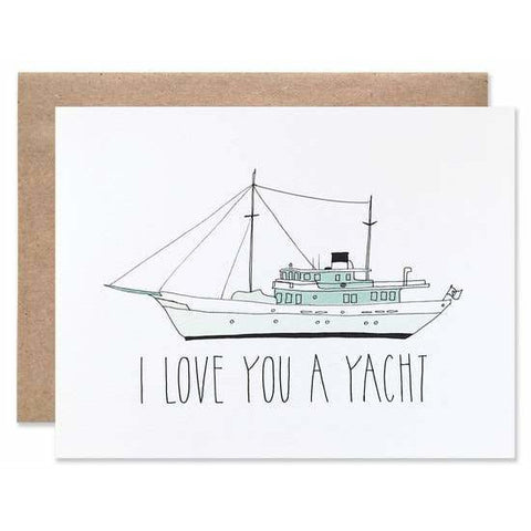 Love You A Yacht