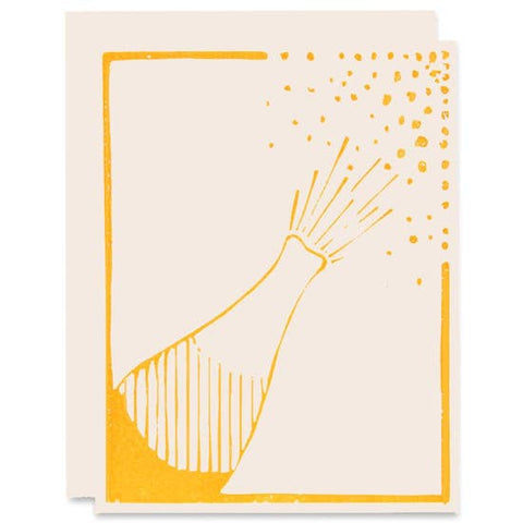 Champagne Pop Celebration Card