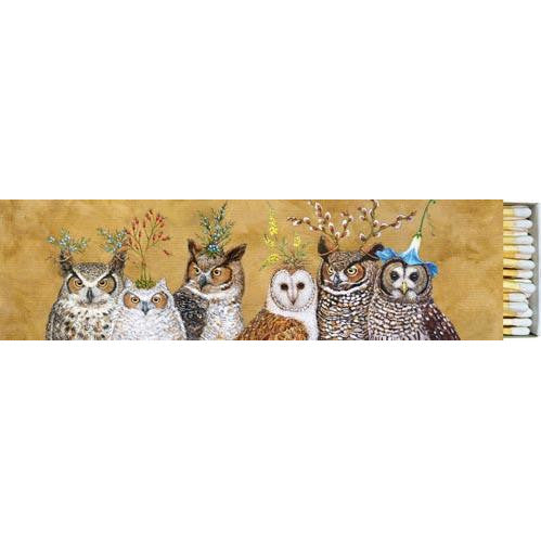 "Owl Family 8"" Long Matches"