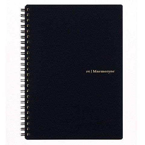 195 Mnemosyne Lined Notebook 7MM