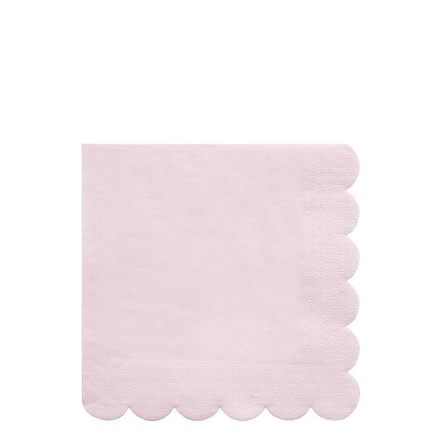 Large Pale Pink Napkins