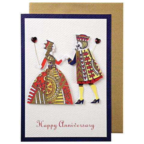 King And Queen Anniversary Card
