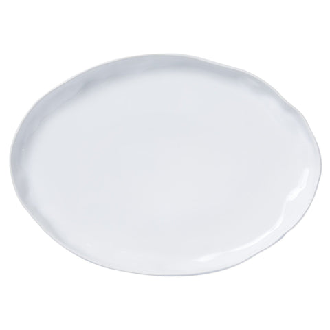 Aurora Snow Large Oval Platter