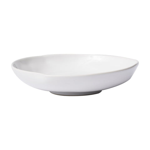 Aurora Snow Shallow Bowl