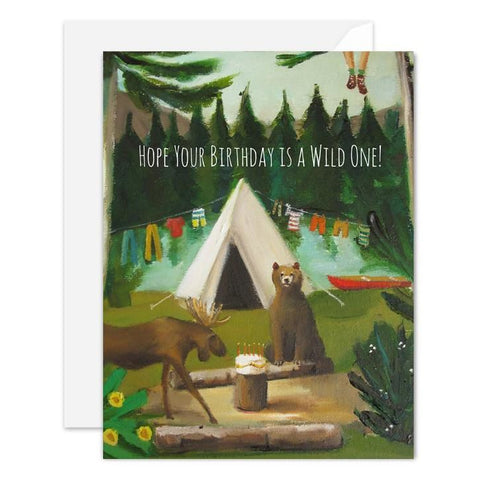 Hope Your Birthday is a Wild One Card