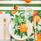 Orange Blossom Table Accent