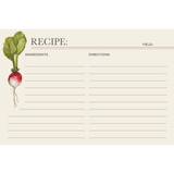 Farmers' Market Recipe Card