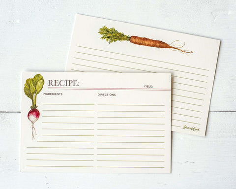 Farmer's Market Recipe Card