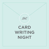 June Card Writing Night